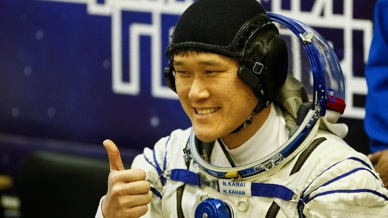 Foto: Ini Astronot Jepang yang Ngaku Tumbuh 9 Cm dalam 3 Minggu