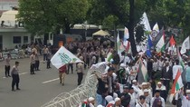 Acara di Panggung Selesai, Massa Bela Palestina Sambangi Kedubes AS