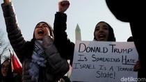 Foto: Aksi Bela Palestina di Washington DC