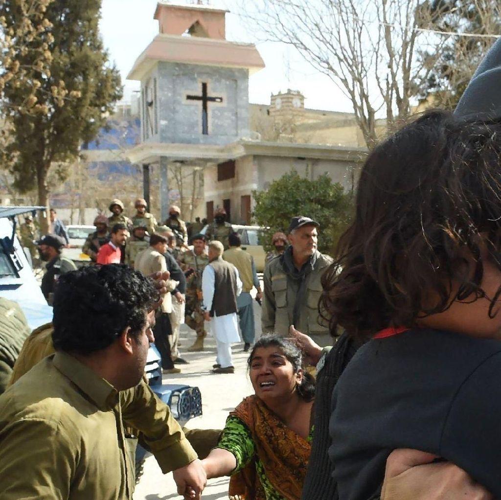 Benarkah ISIS Pelaku Serangan di Gereja Pakistan yang Tewaskan 9 Orang?