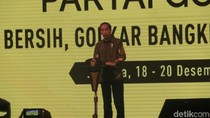 Jokowi: Saya Sempat Was-was Golkar Panas, Ternyata Hangat-hangat Kuku