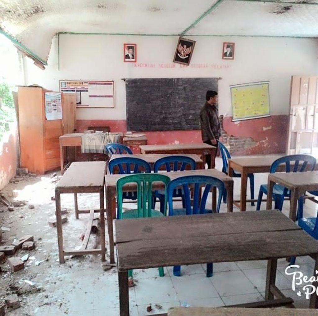 Jumlah Sekolah Rusak Akibat Gempa di Garut Bertambah Jadi 32