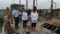 Atasi Banjir, Risma Bangun Rumah Pompa Berkapasitas Besar