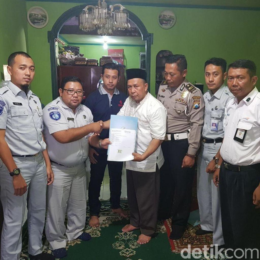 Polisi Ganteng Meninggal Tertabrak KA Dapat Santunan Jasa Raharja