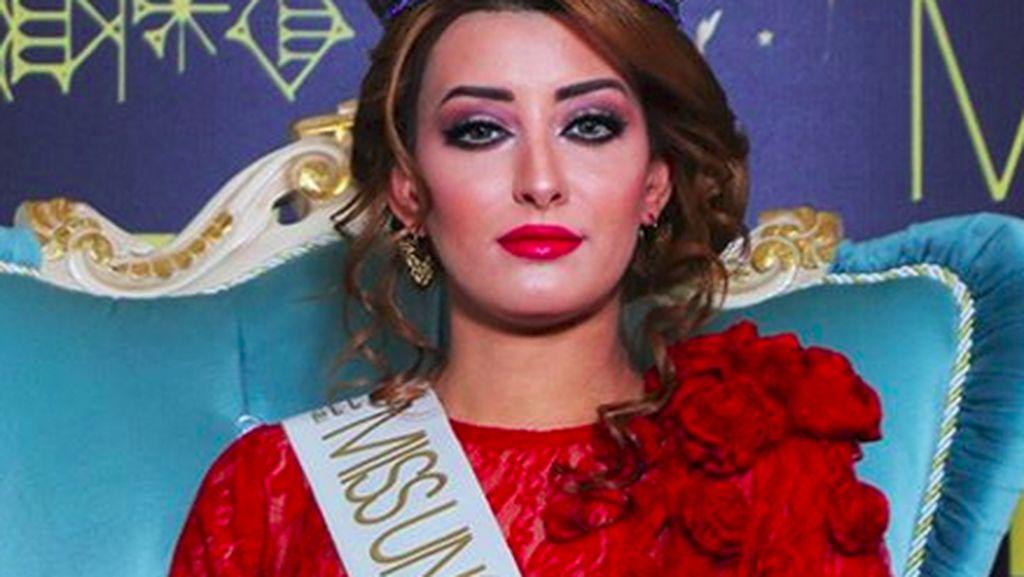 Pasca Kontroversi Selfie, Keluarga Miss Irak Terpaksa Tinggalkan Negaranya