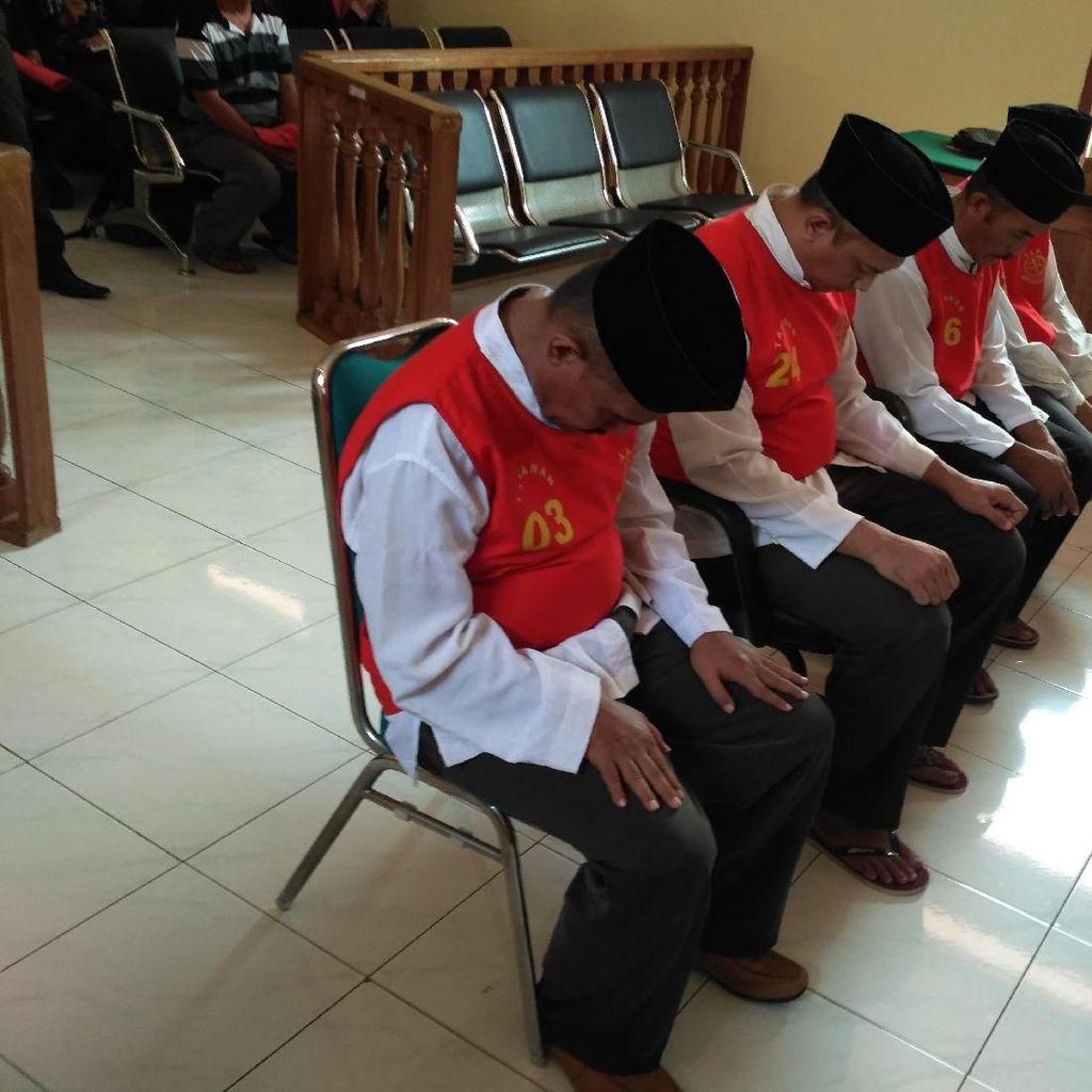 Dituntut 2 Tahun Penjara, 4 Terdakwa Pembalakan Liar Minta Keringanan