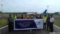 Garuda Indonesia Layani Penerbangan Luwu - Makassar