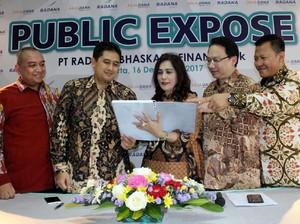 Radana Gelar Public Expose dan Pengobatan Gratis