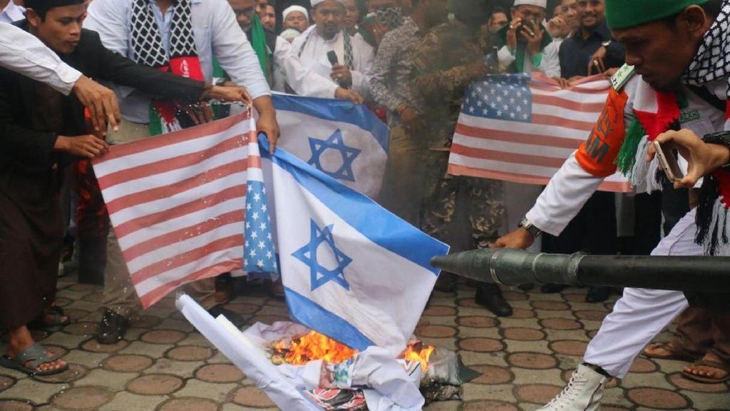 Ada Demo Massa Bela Palestina, KFC hingga Hotel di Aceh Dijaga Polisi