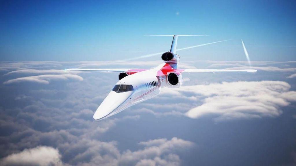 Wusss, Menengok Pesawat Berkecepatan Suara Buatan AS