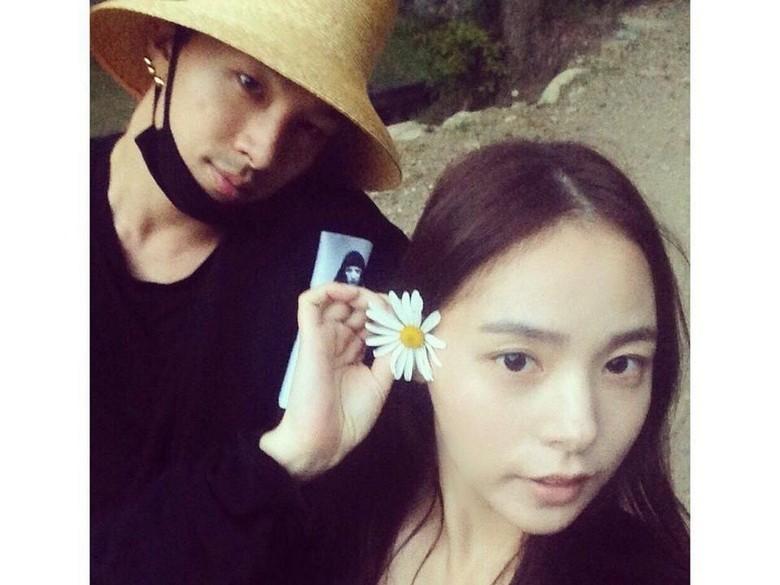 Inikah Gaya After Party Nikahan Taeyang dan Min Hyo Rin?