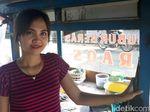 Viral, Penjual Bubur Cantik di Majalaya Bandung