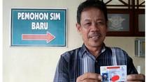 Perpanjang SIM B1, Nama Pria di Tegal Ini Bikin Baper
