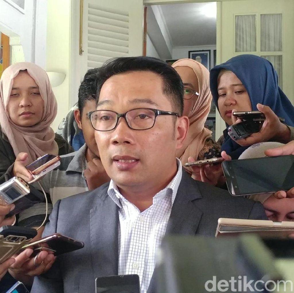 Ridwan Kamil Akui Belum Terima SK Pencabutan Dukungan dari Golkar