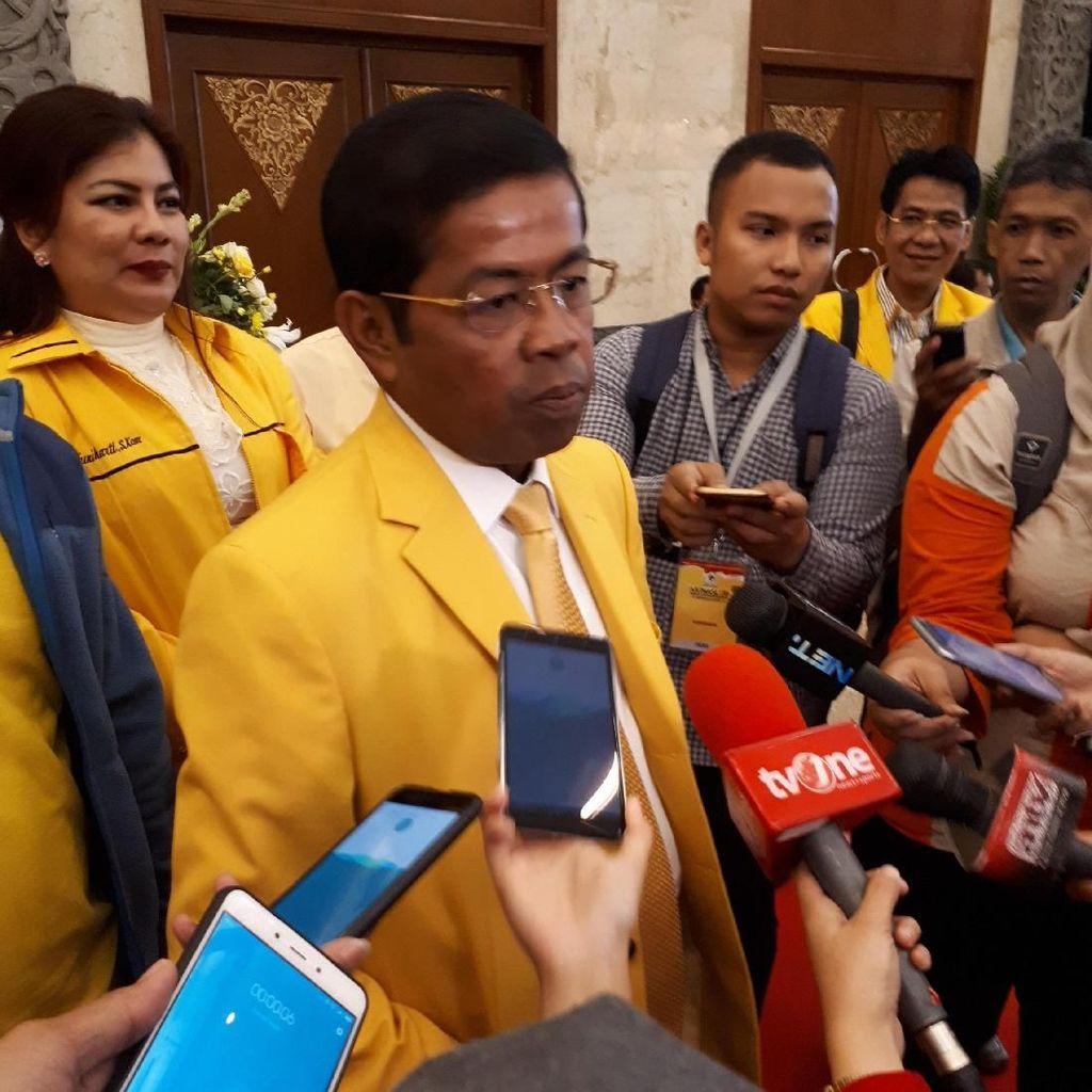 Idrus: Penunjukan Ketum Airlangga di Pleno Aspirasi Pemilik Suara