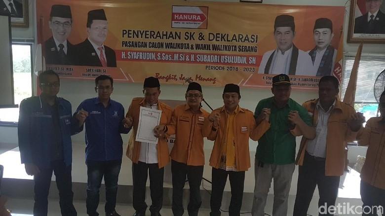 Hanura Usung Syafrudin-Subadri di Pilkada Serang, PAN-PPP Merapat