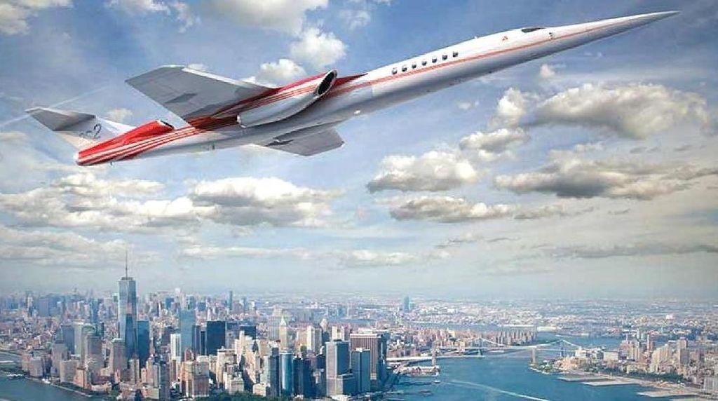 Perusahaan AS Ingin Bikin Pesawat Supersonic Saingan Concorde