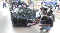 Foto: Mobil Listrik Karya Mahasiswa ITS yang akan Dijajal Jokowi