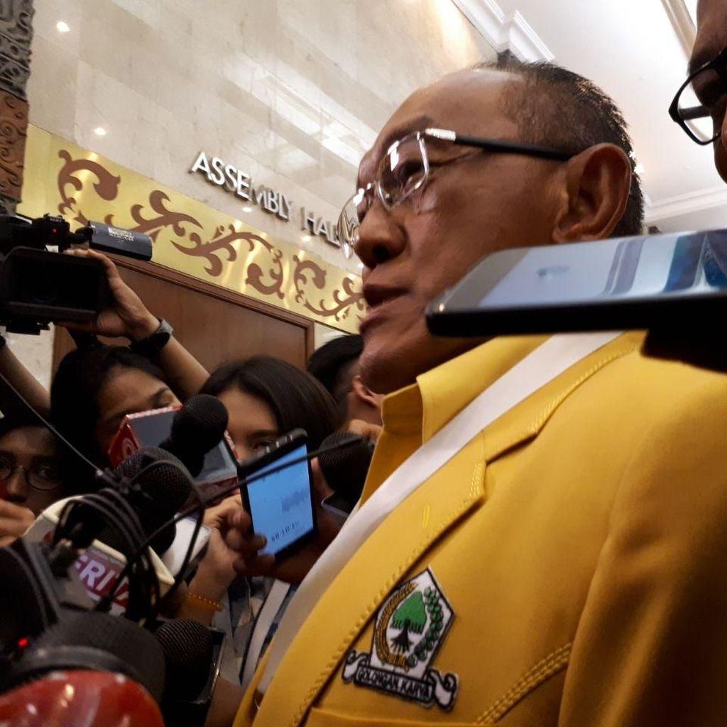 Ical soal Nasib Mahyudin di MPR: Kita Bersama Cari Jalan