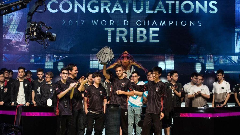 Jadi Juara Dunia Vainglory, Tribe Diganjar Rp 950 Juta