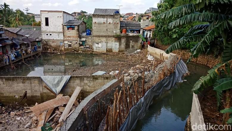 Foto: Diusulkan Jadi Tanggul Baswedan, Ini Progres Tanggul di Jatipadang