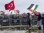 Video Aksi Bela Palestina di Eropa dan Amerika Selatan