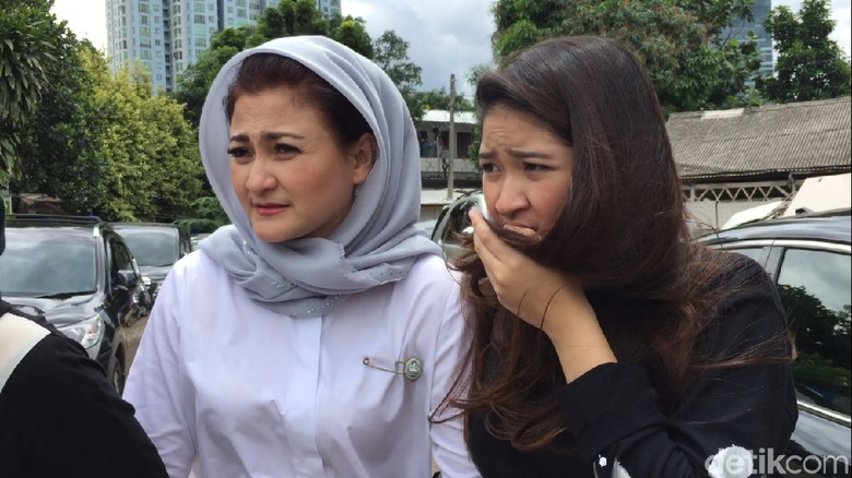 Ada Gadis Muda Temani Ny Deisti Jenguk Novanto, Siapa Ya?