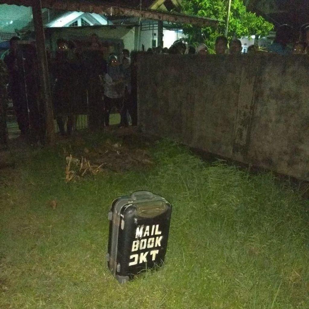 Warga Temukan Koper Mencurigakan di Palembang, Gegana Merapat