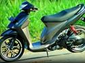 Suzuki Spin 125 Berkelir Abu-abu Satria FU, Keren Juga!
