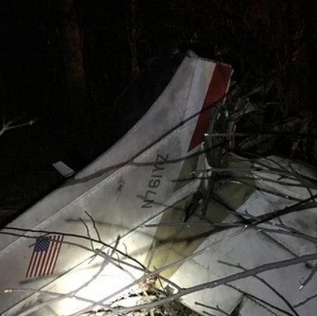 Pesawat Cessna Jatuh di Hutan Lebat AS, 3 Orang Tewas