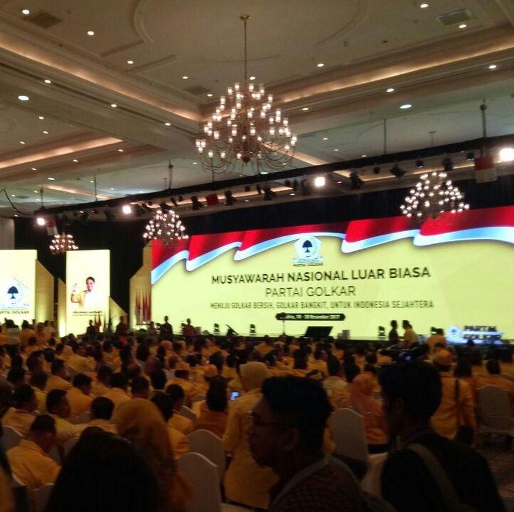 Menteri Kabinet Kerja Jokowi-JK Ikut Hadir di Munaslub Golkar