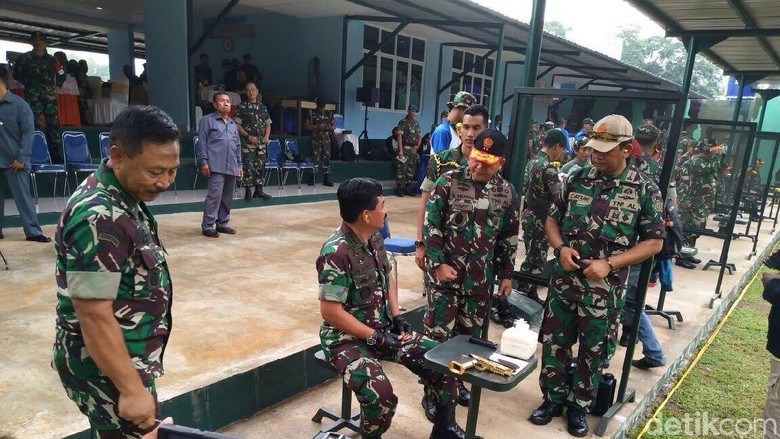 Dor Dor Dor! Begini Aksi Panglima TNI Tembakkan 23 Peluru