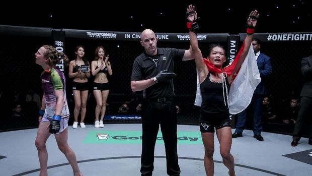 Duel Petarung Wanita Panaskan ONE Championship Jakarta Bulan Depan