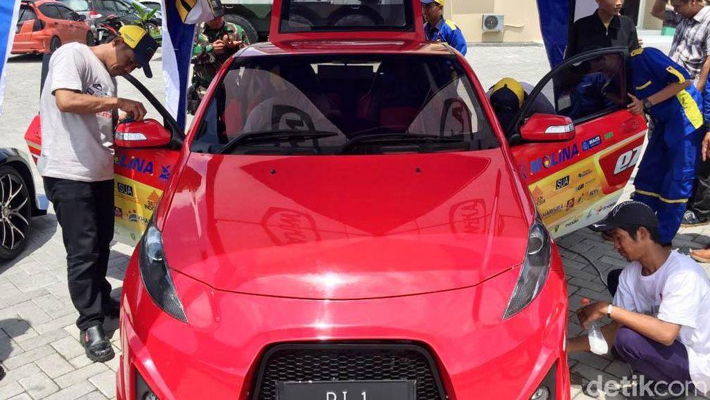 Mobil Listrik ITS Kini Lebih Ngebut dan Baterainya Lebih Tahan Lama