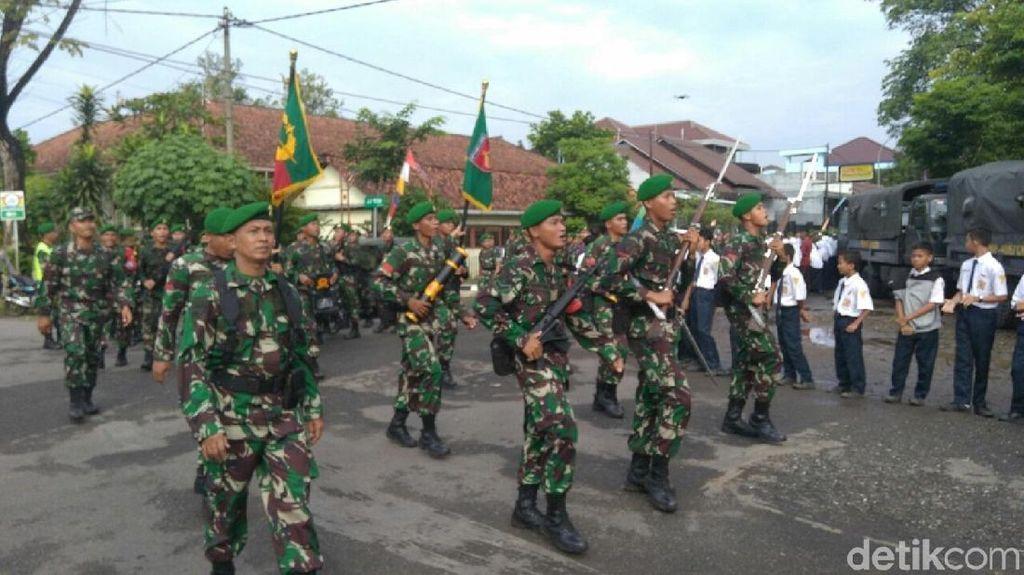 Jalan Kaki 250 KM, TNI AD di Jateng Peringati Hari Juang Kartika