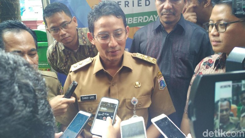 Sandi: Jakarta akan Fokus Beli Beras Lokal