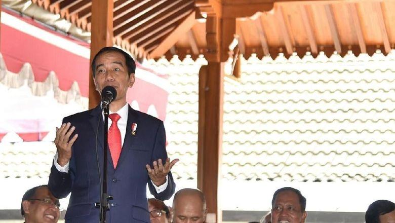 Jokowi Kumpulkan Raja dan Sultan se-Indonesia di Istana Bogor