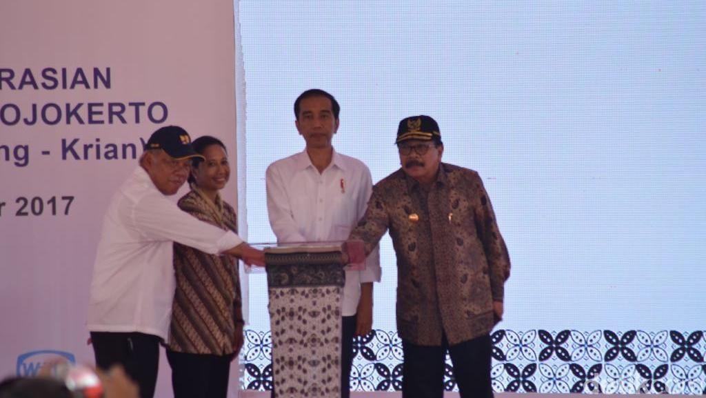 Tol Sumo Diresmikan, Pakde Karwo: Terima Kasih Pak Jokowi