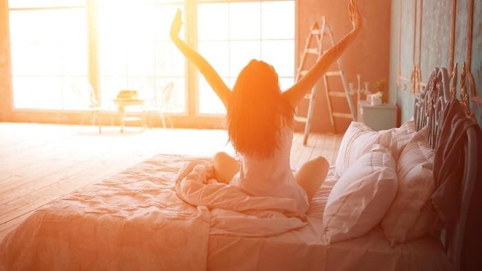 Nah, ini dia tips atasi susah bangun pagi untuk olahraga. Foto: thinkstock