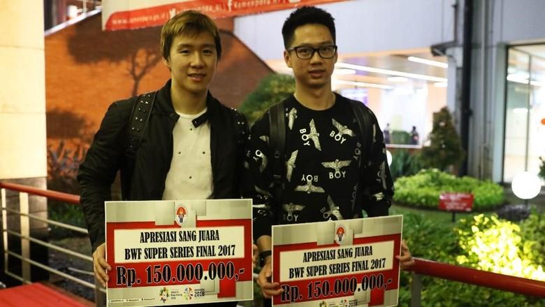 Sempat Berniat Mundur, Kevin/Marcus Malah Jadi Juara