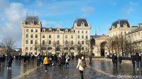 Sudut-sudut Paris yang artistik (Afif Farhan/detikTravel)
