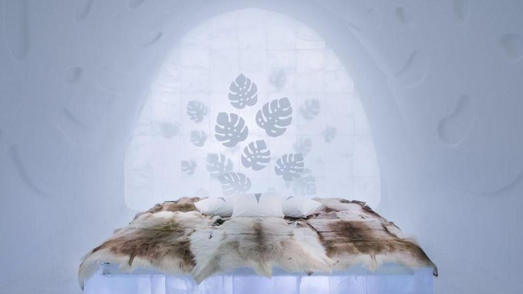 Foto: Brrrr! Hotel Ini Semuanya Terbuat dari Es