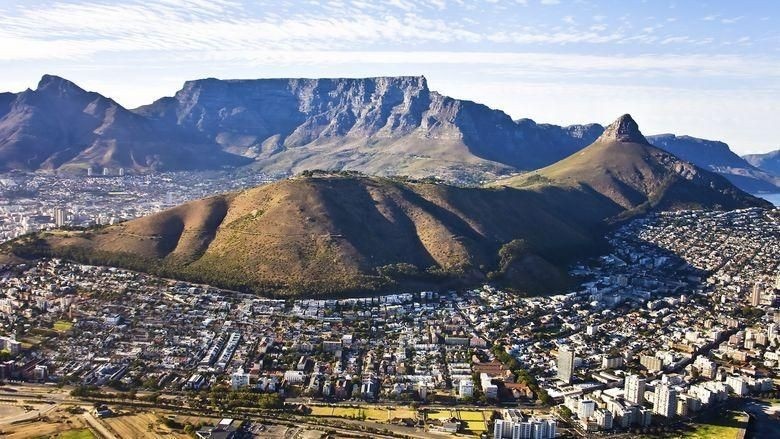 Foto: Ilustrasi Kota Cape Town di Afsel (Thinkstock)