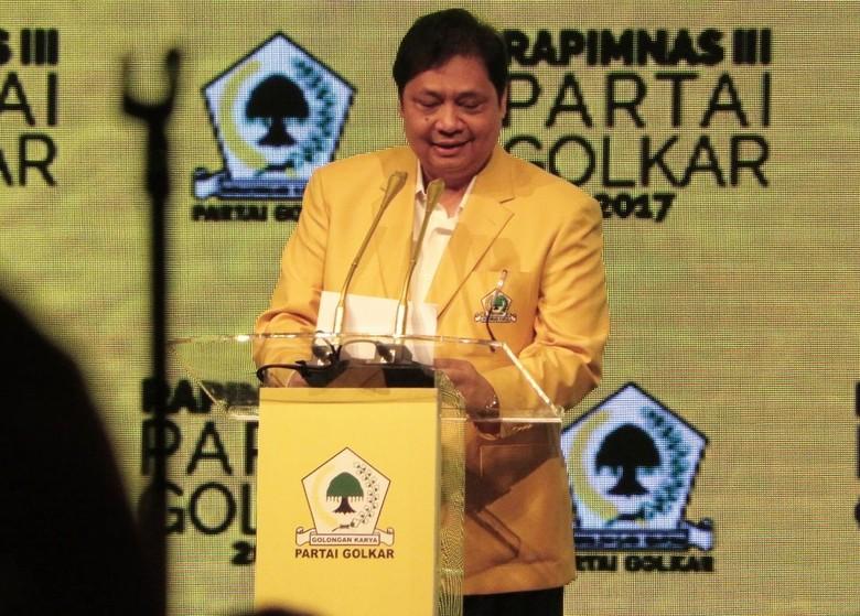Rapat Selesai, Airlangga Perintahkan Golkar Akhiri Pansus Angket KPK