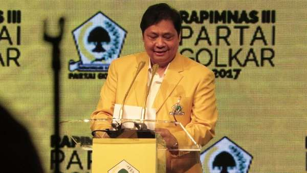 Airlangga Tak akan Tarik Golkar dari Pansus Hak Angket KPK DPR