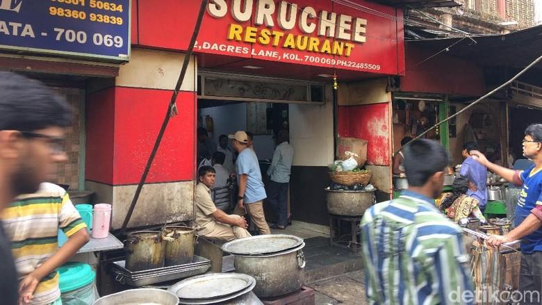 Restoran Chittodas Suruchee Kolkata, India (Masaul/detikTravel)