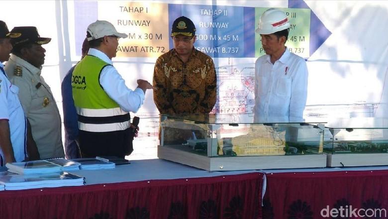 Jokowi: Bandara Nabire akan Jangkau 8 Kabupaten di Papua