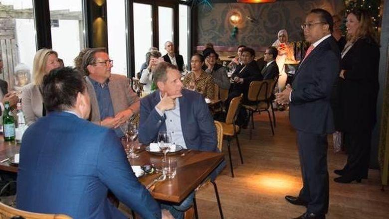 Foto: Pertemuan KBRI Den Haag dengan operator tur lokal (dok KBRI Den Haag)