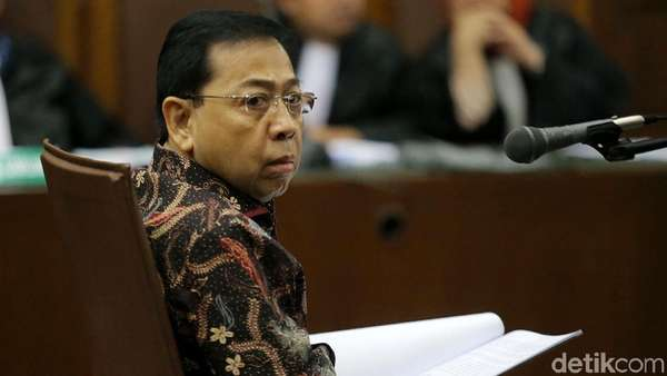 Vonis Andi Narogong, Hakim Sebut Novanto Terima Jam Richard Mille