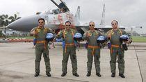 Makna di Balik Momen Kompaknya Para Bintang 4 Terbang dengan Sukhoi